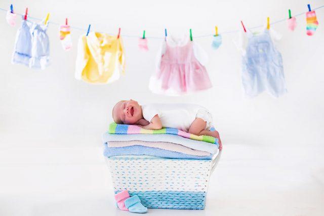 dojenček iz porodnišnice
