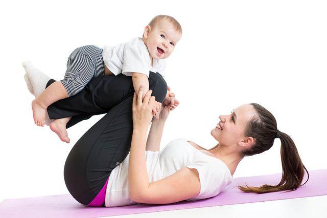 shujšati po porodu